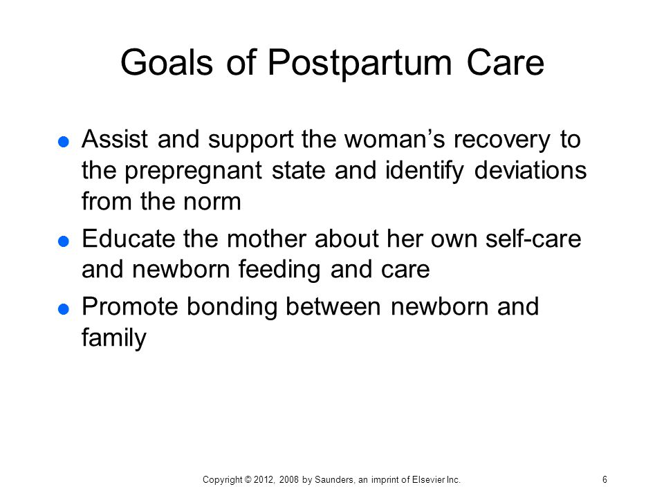 Postpartum Assessment And Nursing Care  Ppt Download