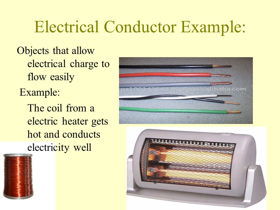 Common Conductors Of Electricity Examples : Insulators and conductors ppt video online download