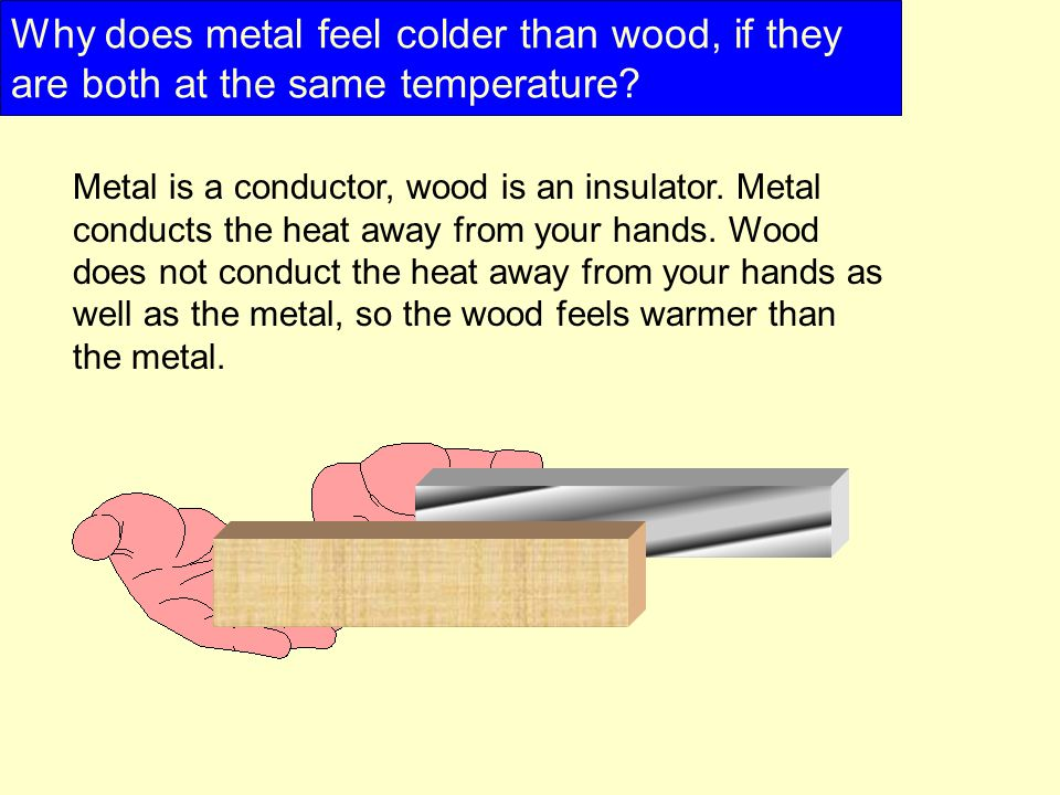 Why Is Metal Cold At Room Temperature