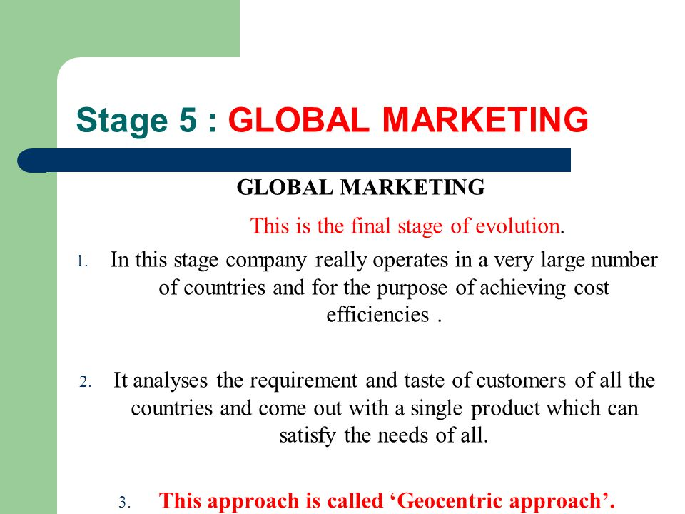 international marketing evolution International market international business multinational enterprise international business study international marketing these keywords were added by machine and not by the authors this process is experimental and the keywords may be updated as the learning algorithm improves.
