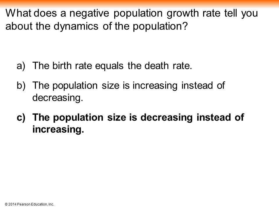 negative population growth essays