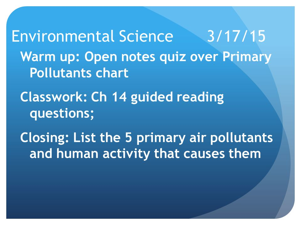 environmental science chapter 1 notes Start studying chapter 1 notes ap environmental science learn vocabulary, terms, and more with flashcards, games, and other study tools.