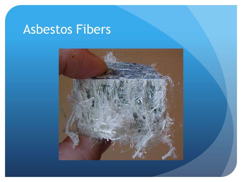 Asbestos fibers in air
