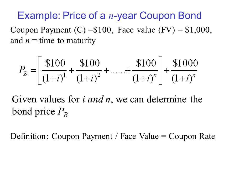 Bond coupon interest rate definition