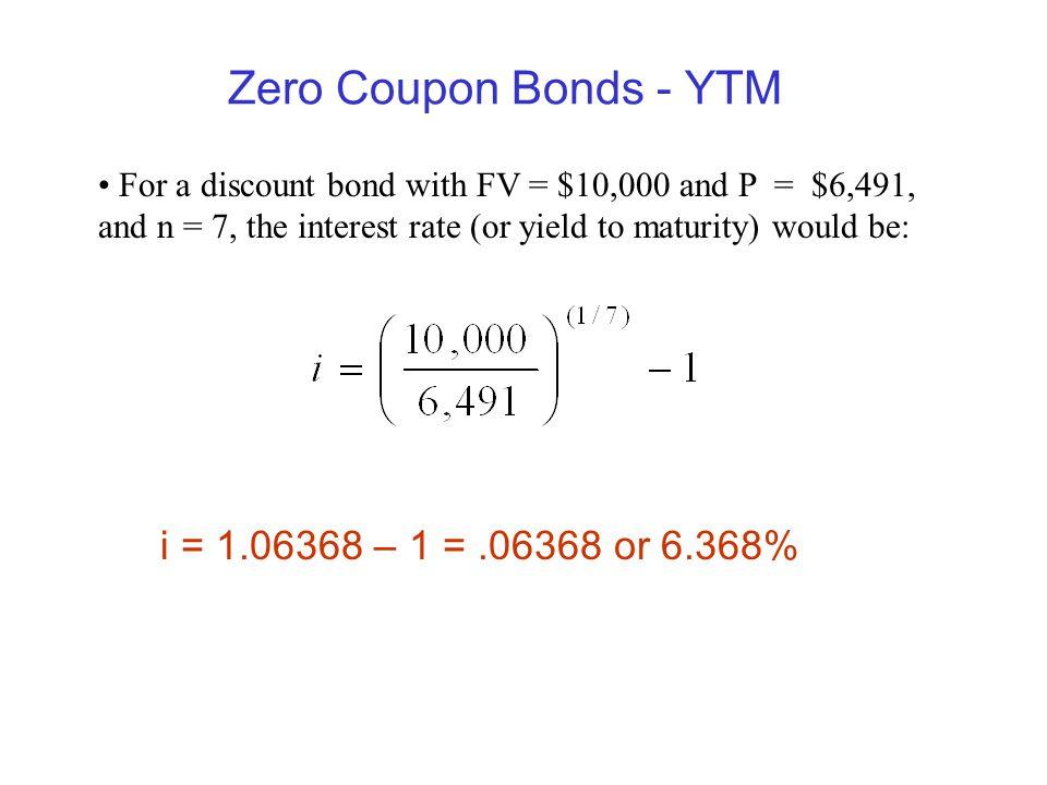 Zero coupon municipal bonds rates