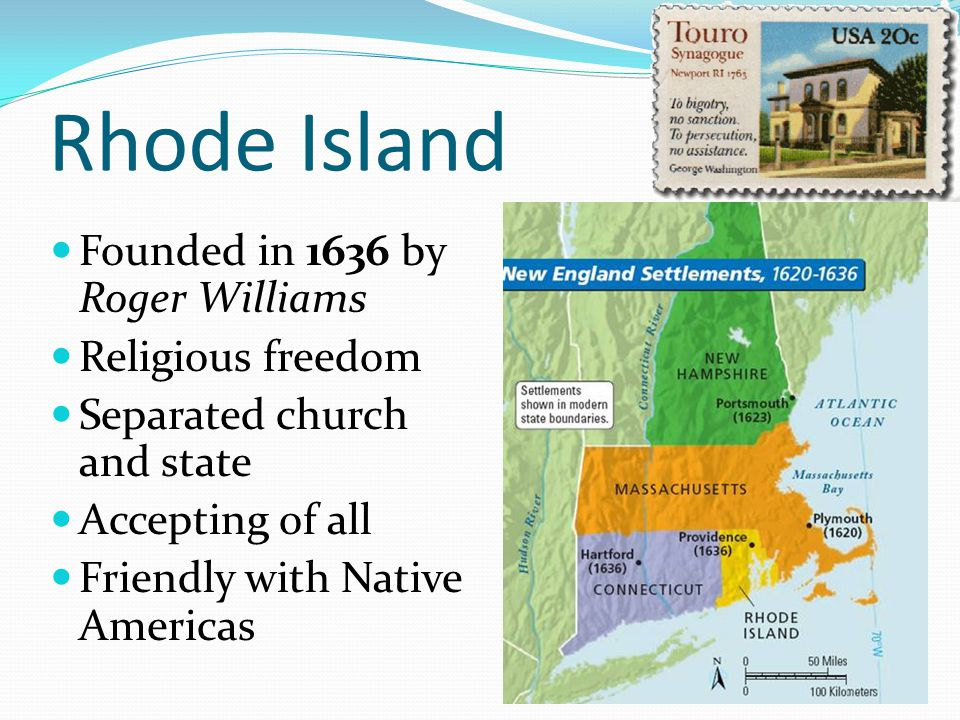 Rhode Island Founder Separation Of Church And State
