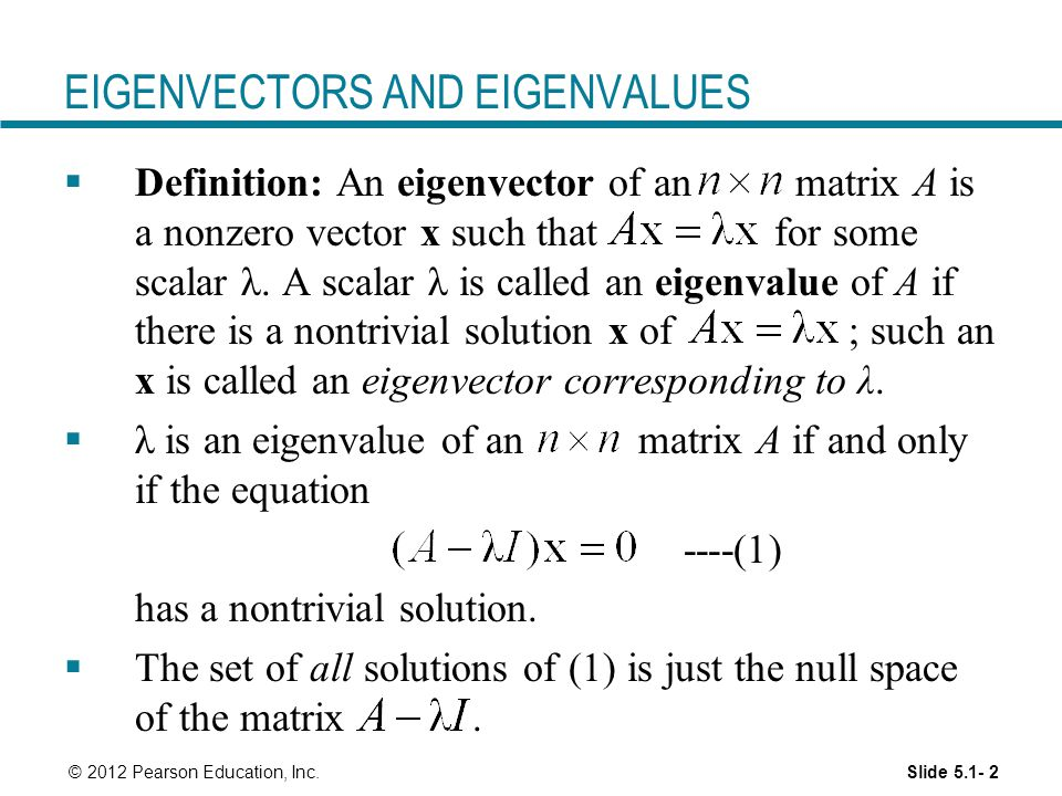 Matrix Eigenvectors Calculator