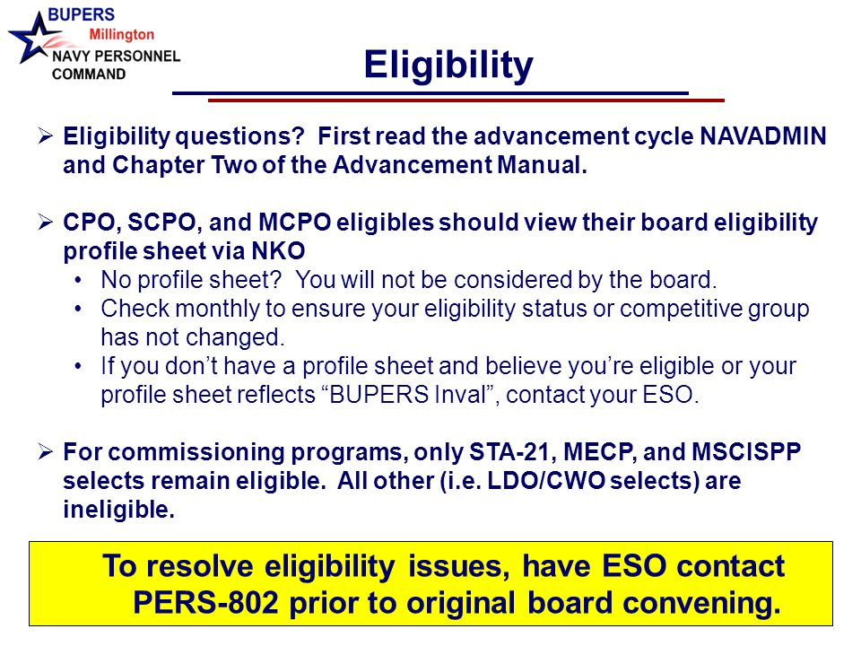 Navy Enlisted Advancement System Unclassified Navy Advancement ...