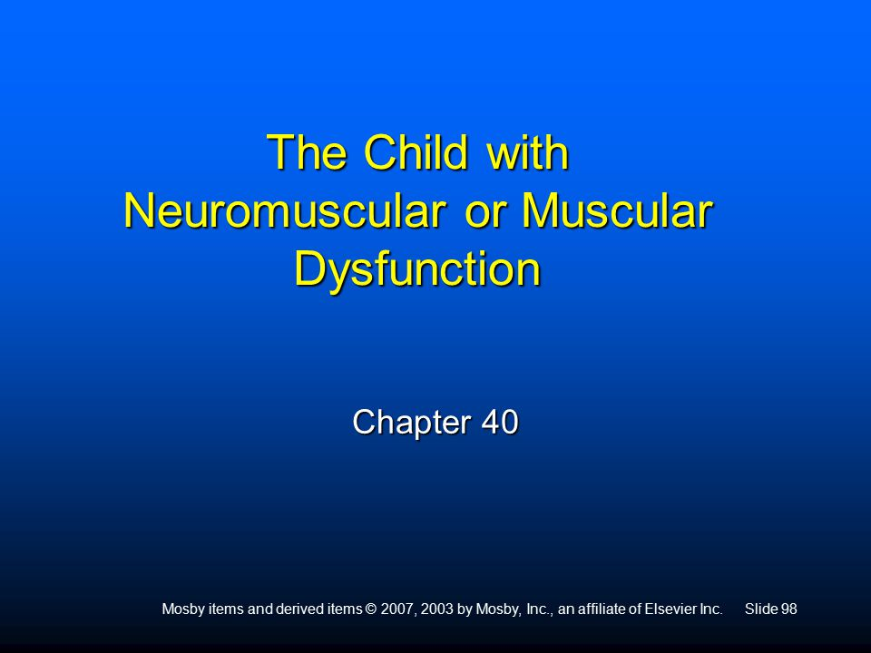 Preadolescence dysfunction