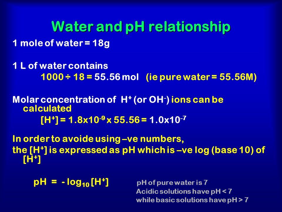 ph and concentration relationship quotes