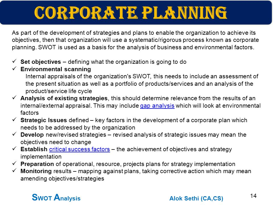 analysis of strategic operational issue of The analysis of hr management issues external to the organization and developing scenarios about the future are what distinguishes strategic planning from operational planning the basic questions to be answered for strategic planning are.