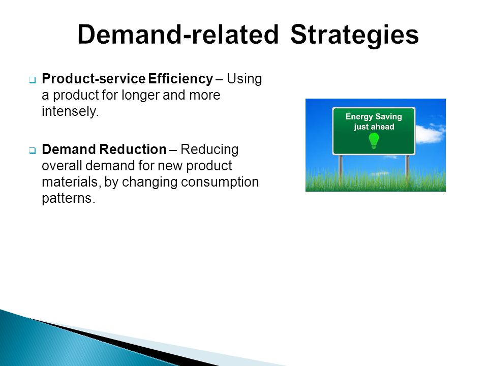 Demand-related Strategies