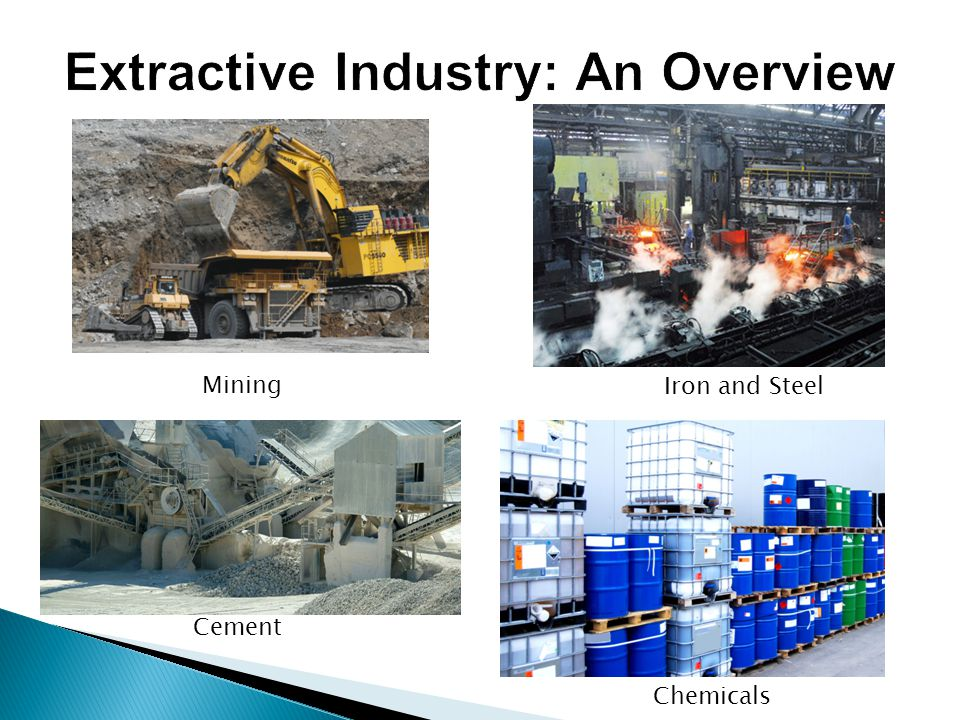 Extractive Industry: An Overview