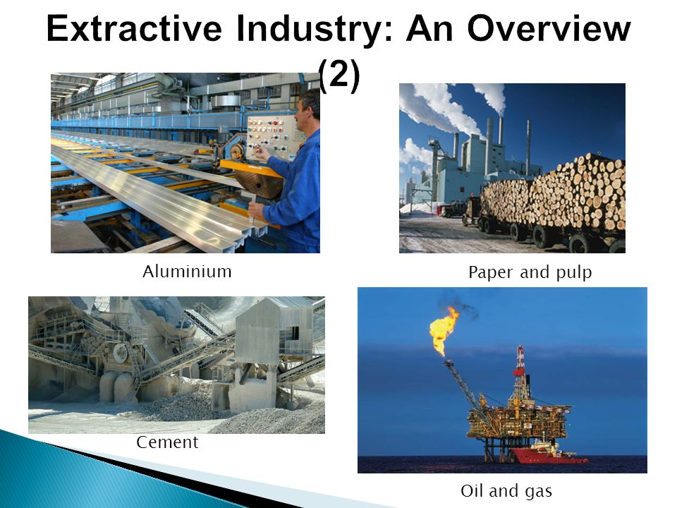 Extractive Industry: An Overview (2)