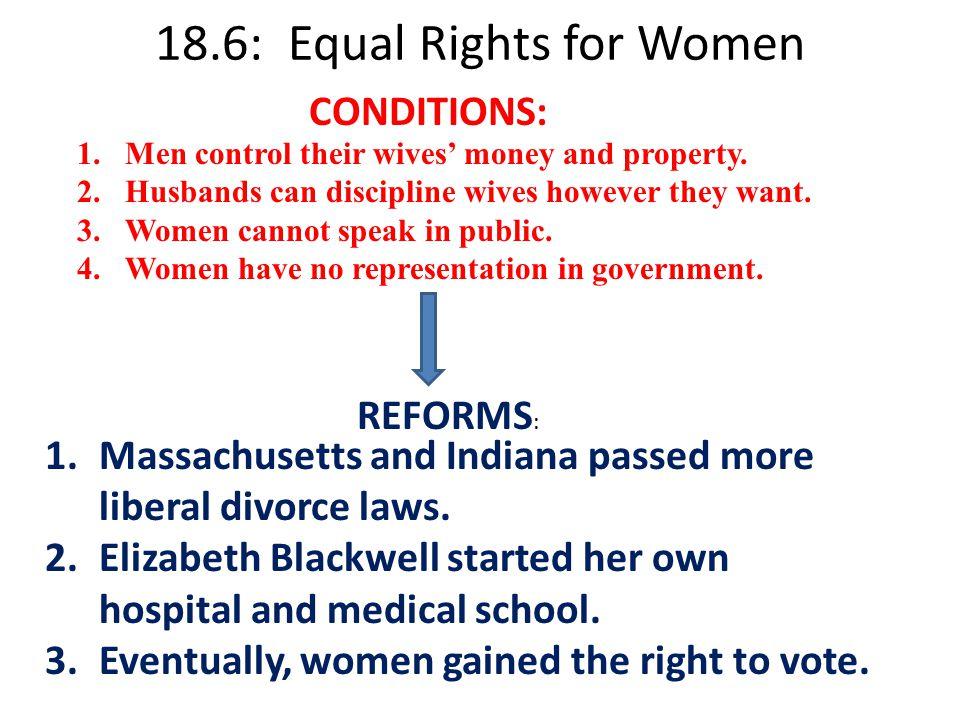 equal rights essay From homes to parliaments and congressional houses in countries around the world, people cannot decide to agree on whether men and women should have equal rights.
