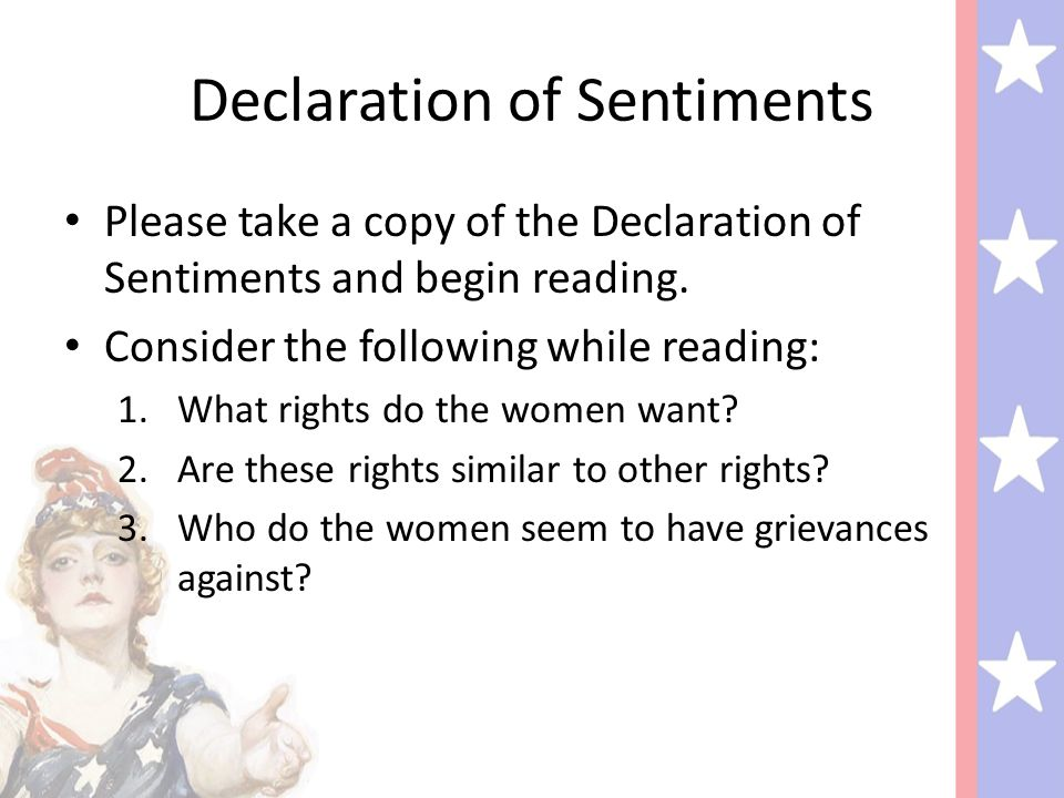 the events that led to the declaration of sentiments after the declaration of independence A chronology of events that lead to the signing of the american declaration of independence.