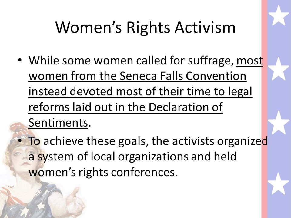 Women's Rights Activism