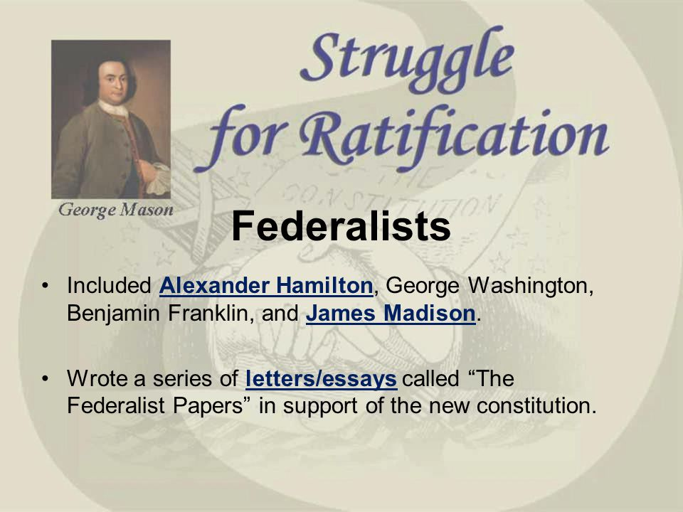 a comparison of alexander hamilton and george washington George washington, alexander hamilton, thomas jefferson, john adams,  james  but the two areas were related and the differences were exacerbated by  the.