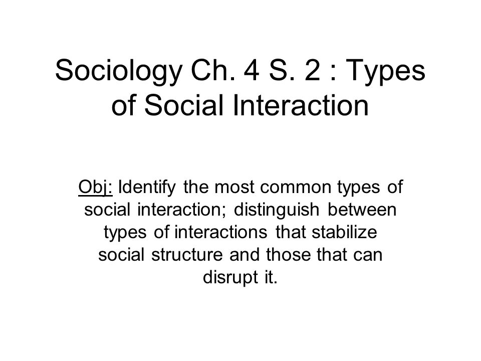 SOCIAL INTERACTION IN SOCIOLOGY PDF DOWNLOAD