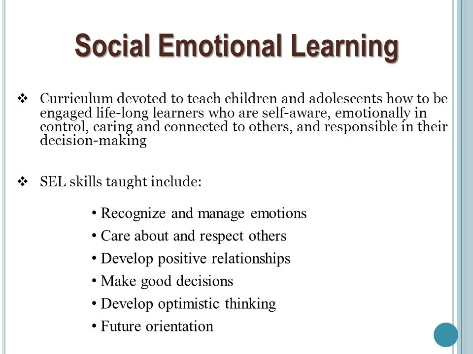 social and emotional well being Get the best of edutopia in  it is also important for understanding students' social and emotional learning a well-designed  which are currently being .