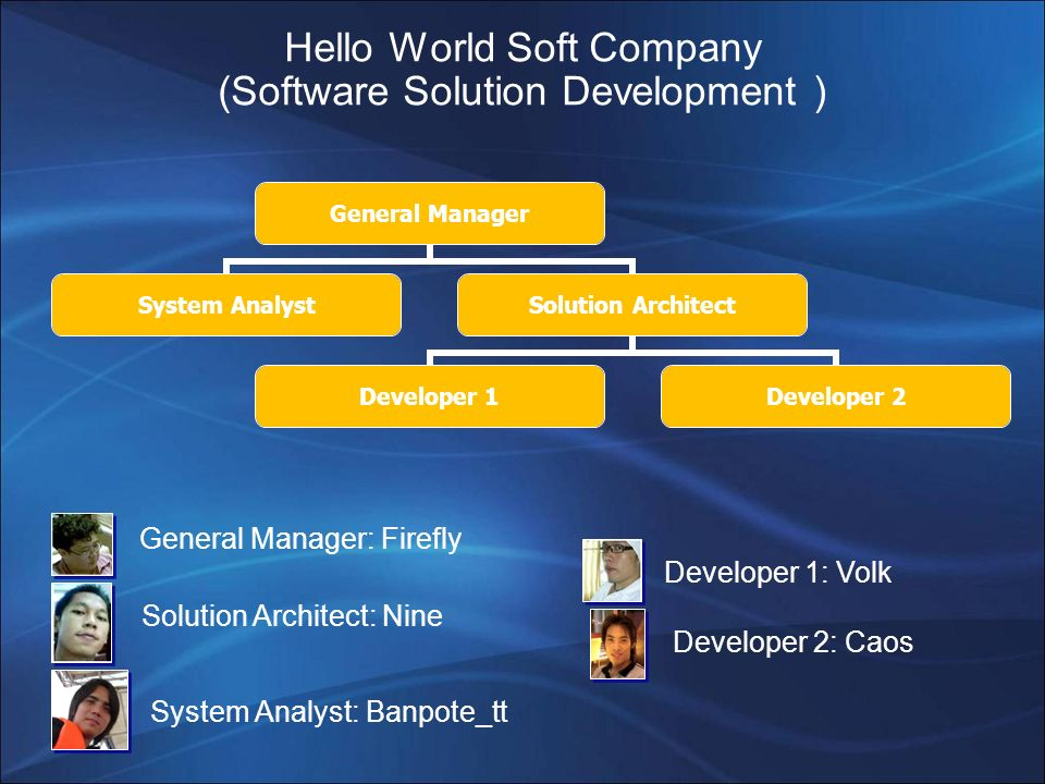 Hello World Soft Company (Software Solution Development )