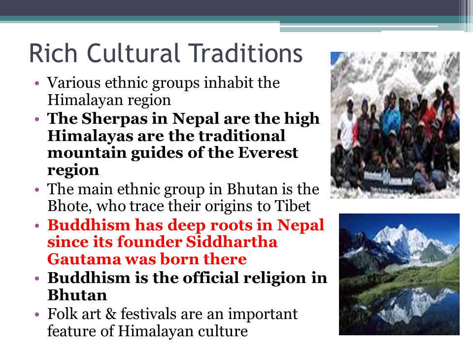 Rich Cultural Traditions