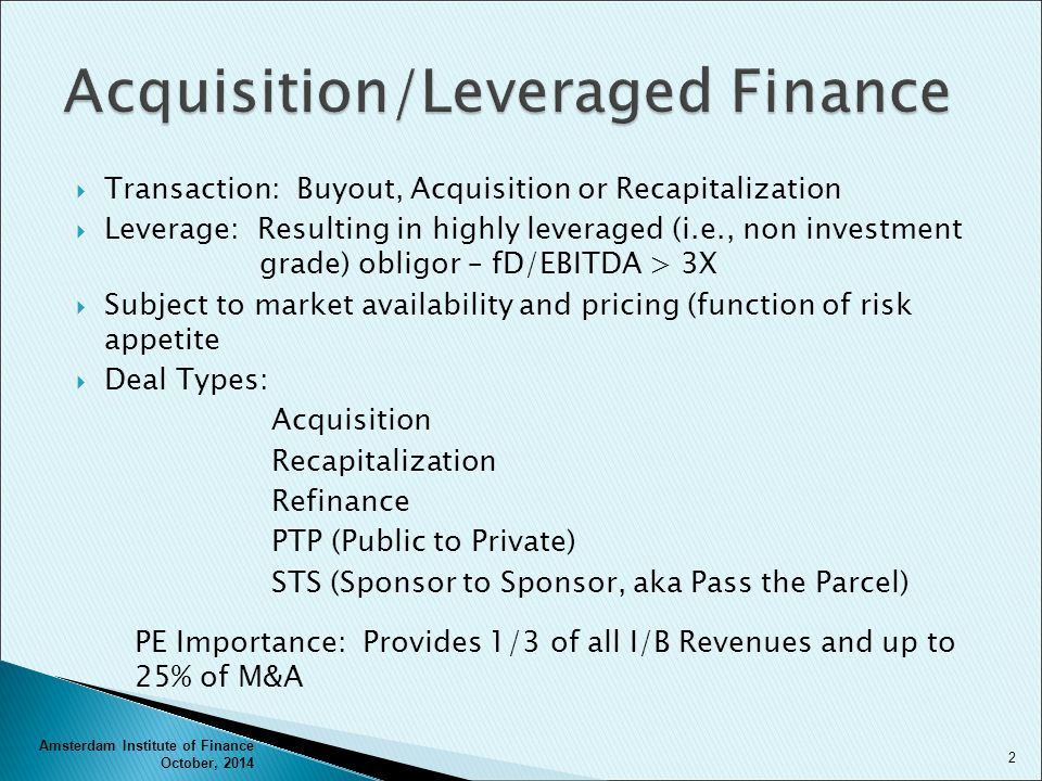 Leveraged acquisitions | Coursework Example - einsteinisdead com
