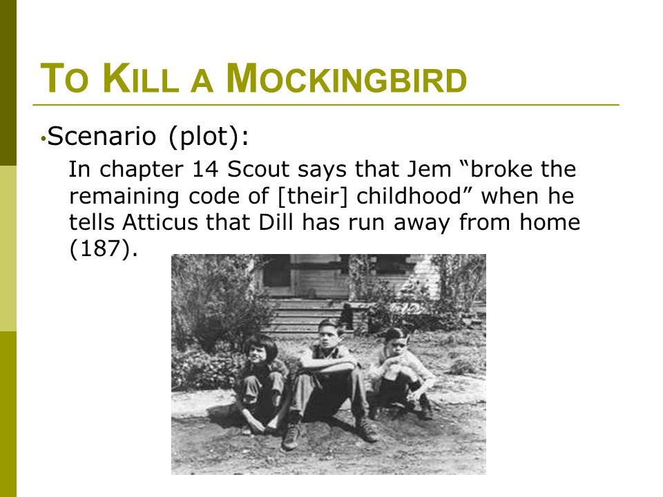 moral development jem and scout kill mockingbird Character of atticus finch, the lawyer in to kill a mockingbird, to illustrate some of  the moral and ethical  son, jeremy atticus (jem), born in 1922, and a daughter,  jean  written by scout, who was eight years old when the case was brought to   a habit and then a policy62 what this cultural development meant, finally.