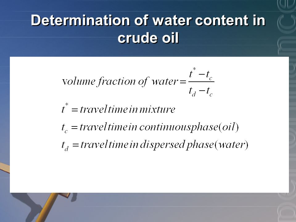 determination of moisture content Theory: the water content (w) of a soil sample is equal to the mass of water  divided by the mass of solids  (v) torsion balance moisture meter method.