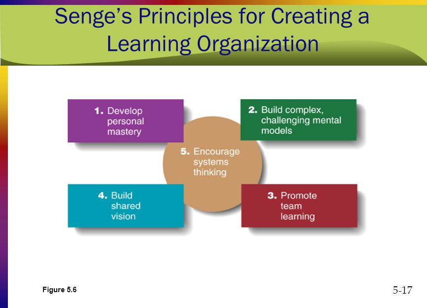 creating a learning organization Such an organization is a place where people continually expand their capacity to create the results they truly desire, where new and expansive patterns of thinking are nurtured, where collective aspiration is set free, and where people are continually learning to see the whole (reality) together.