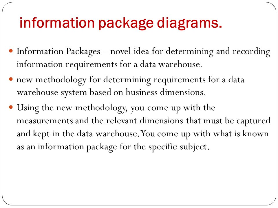data warehouse business requirements document