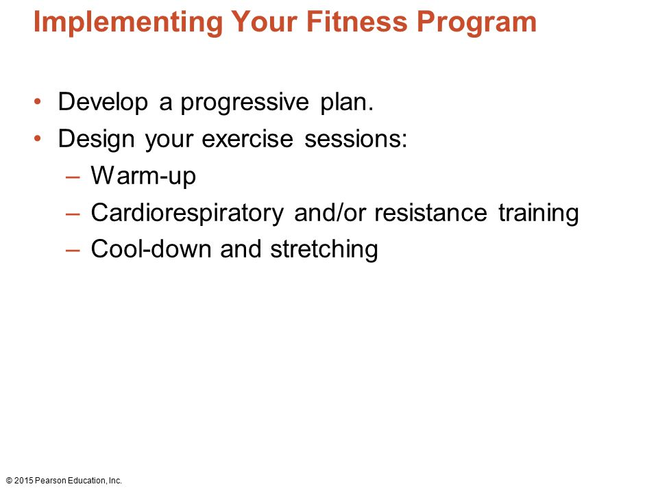 develop a fitness program How to start a skinny ms fitness program in your community sticking to a fitness regimen means that you'll need to develop specific strategies to keep it going.