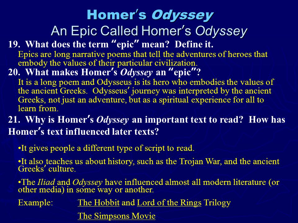 greek culture odyssey essay The religious beliefs and aspects of the ancient greek culture are throughout the odyssey, greek values and the greek culture are share this essay on.