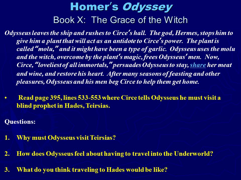 odysseus man of many traits There are many reasons why the suitors are not prepared for odysseus's return first, he has been gone a total of nearly twenty years, some ten years longer than the others who went off to fight in.