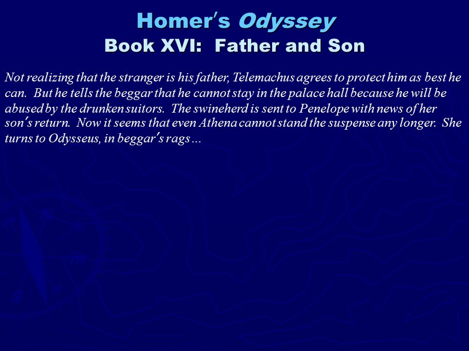 odysseus mistakes essay Free college essay the odyssey ten years after the fall of troy, the victorious greek hero odysseus has still not returned to his native ithaka.