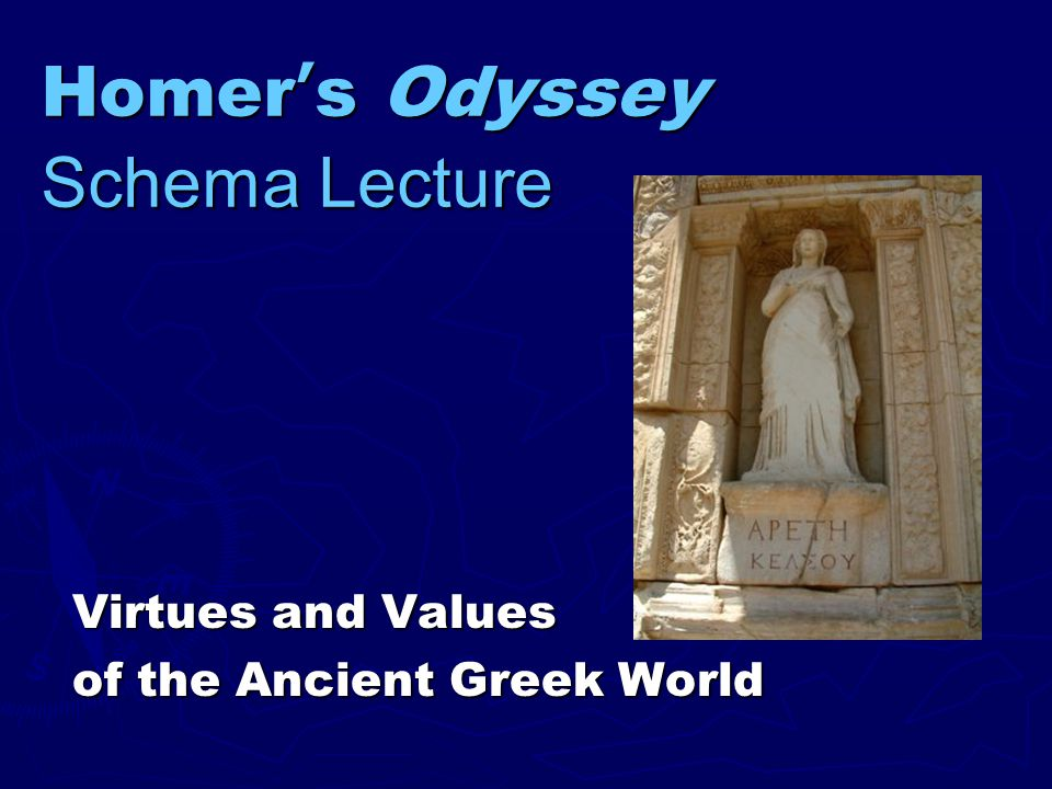 the odyssey moral values We offer you the ability to read the article below and choose one of the odyssey essay  homer tells us about the ancient greeks' moral code, traditions, values,.