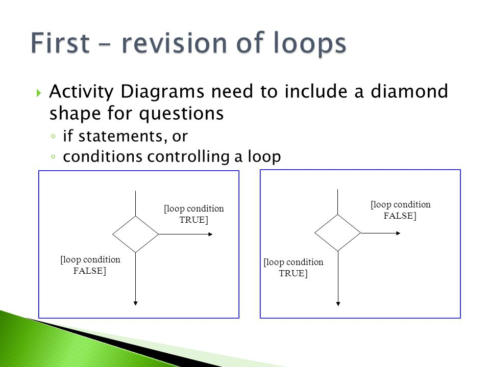 Mock test review revision of activity diagrams for loops ppt download 2 first revision ccuart Image collections
