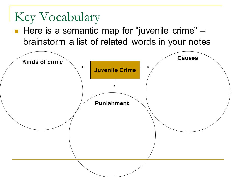 Juvenile Justice Glossary