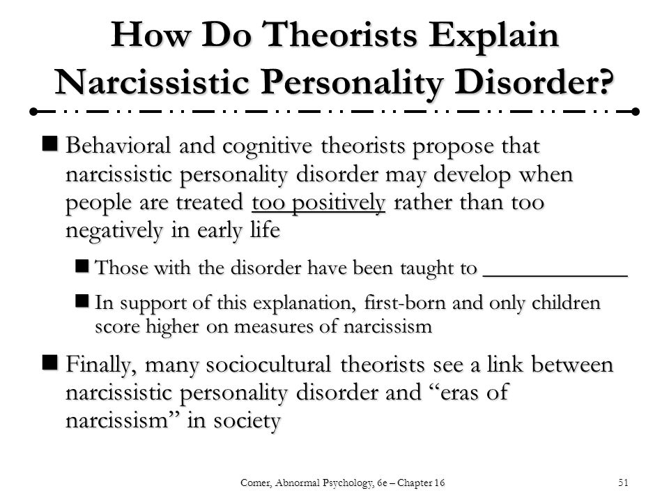 narcissistic personality disorder treatment success rate