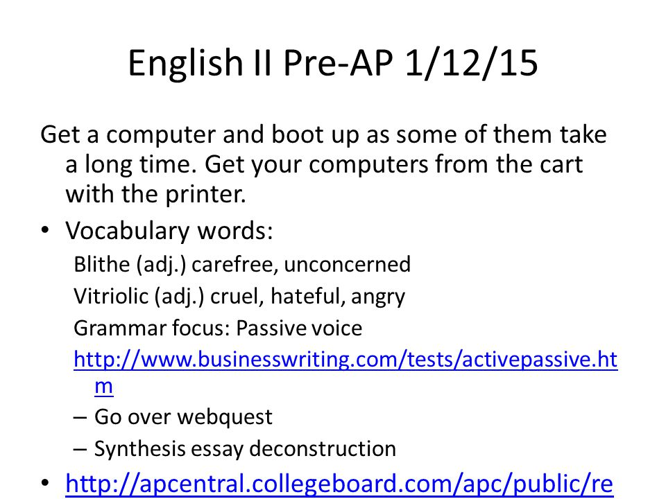 ap english synthesis essay penny