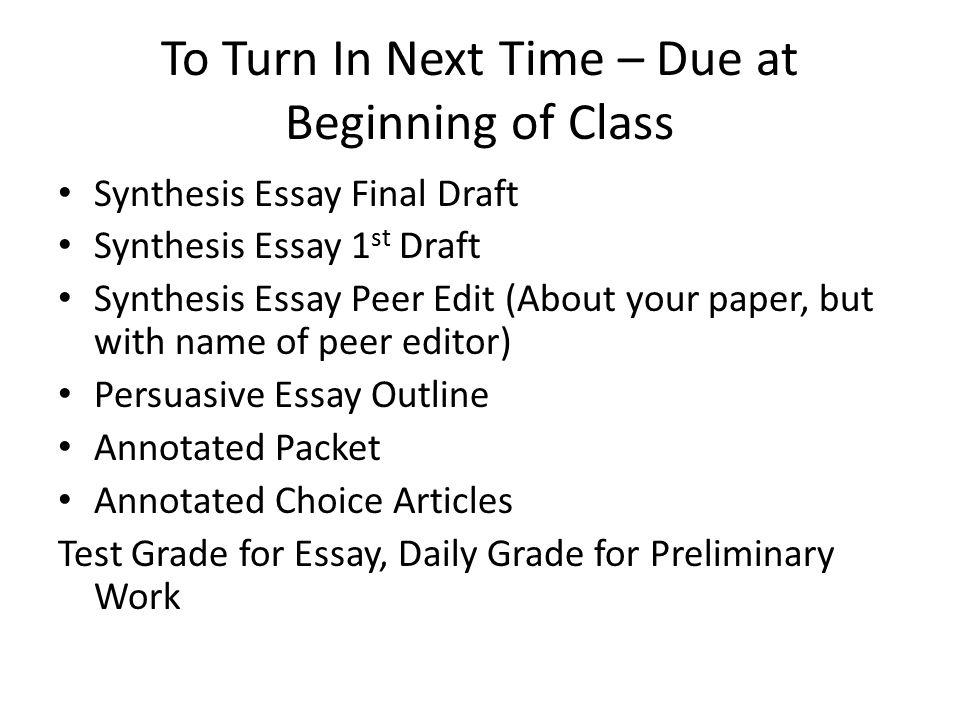 essay final paper