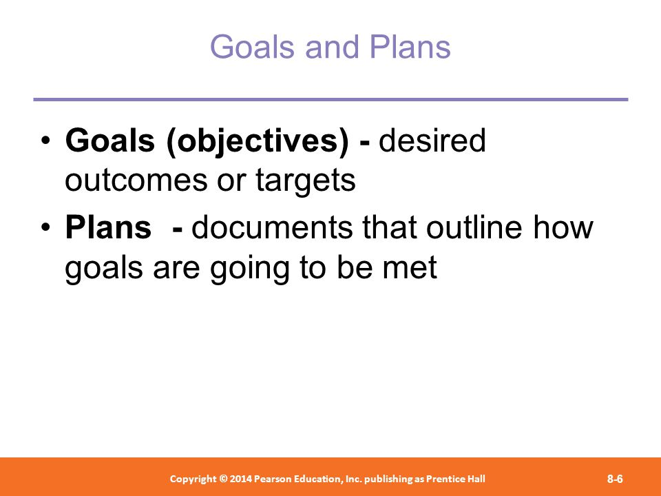 setting goals and objectives ppt video online download