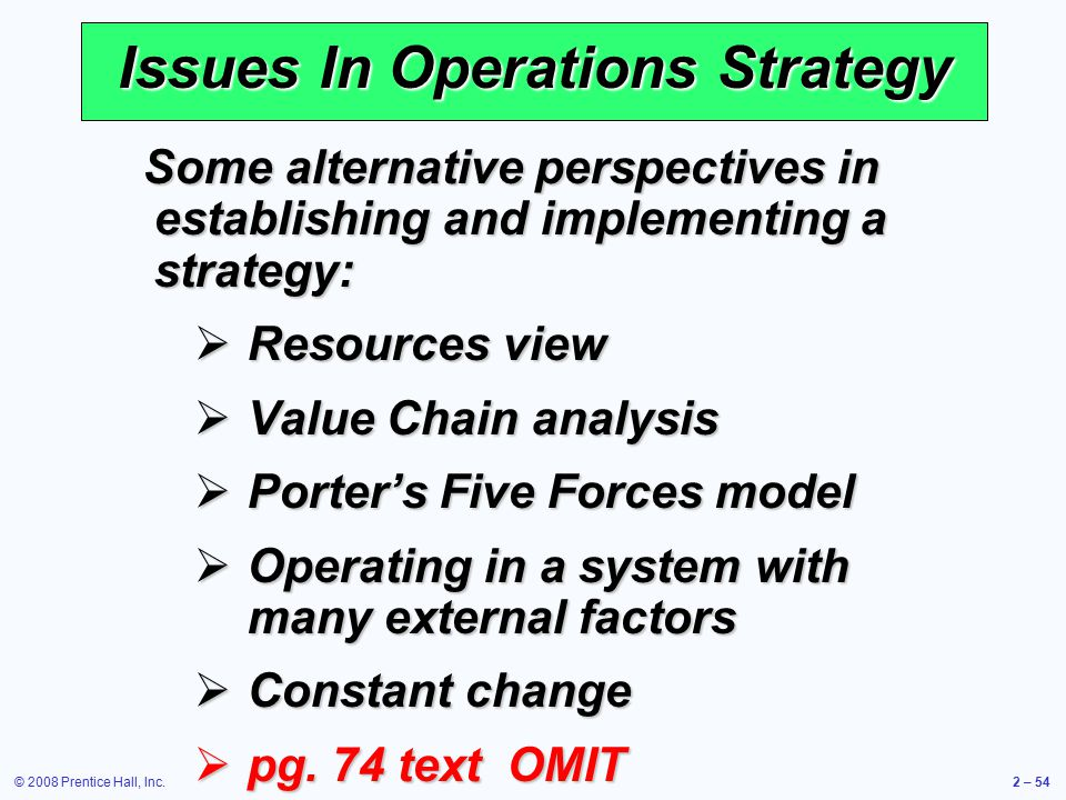 analysis of strategic operational issue of Strategic report for ford motor company reorganize the company's worldwide operations into a more cohesive unit competitive analysis force strategic.