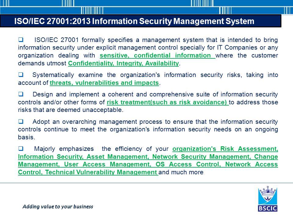 information security management system pdf