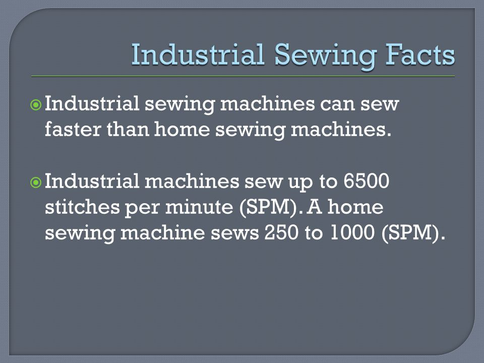 Apparel industry construction methods ppt video online