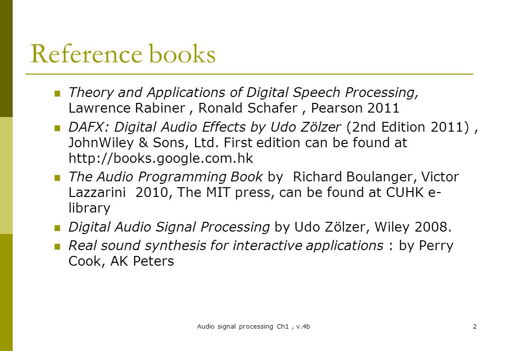 theory and applications of digital speech processing rabiner pdf