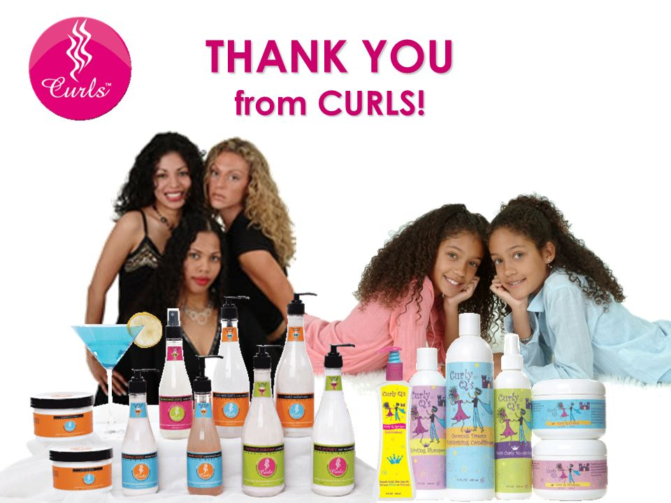 THANK YOU from CURLS!