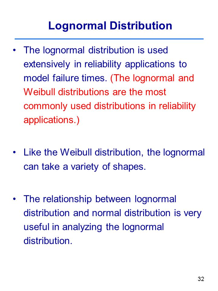 relationship between lognormal and normal