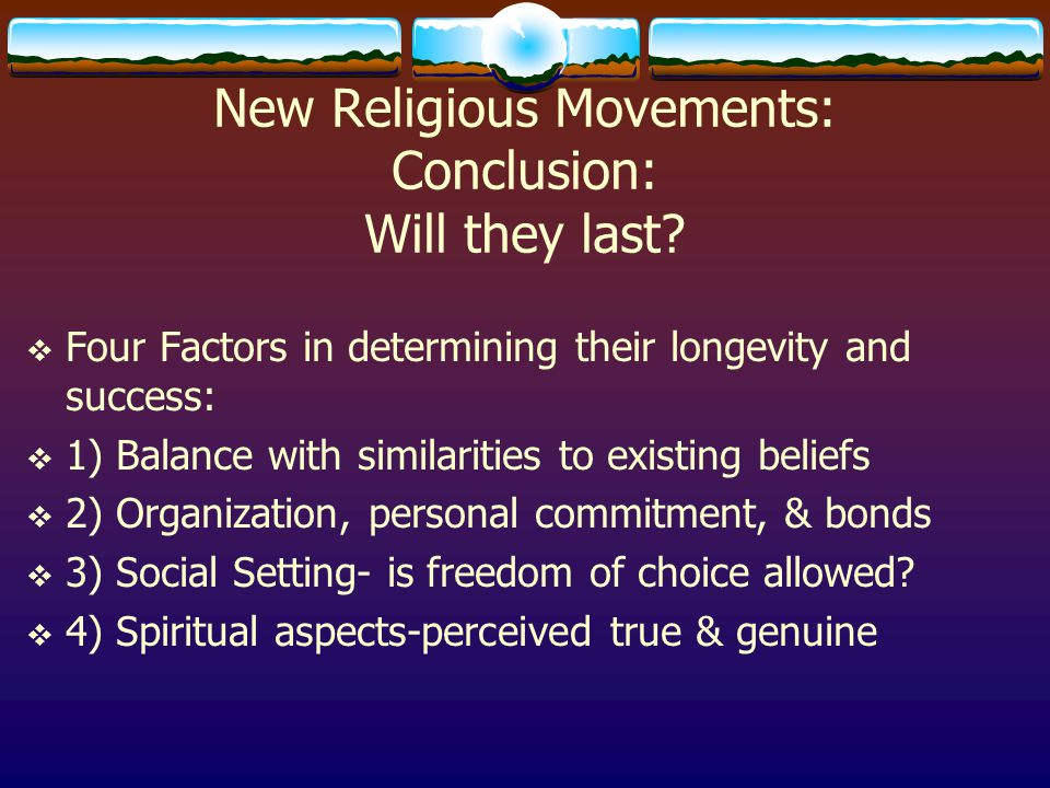religious movements and their effect on Religion in colonial america: trends, regulations, and beliefs puritan movement in no way be molested or prejudiced for their religious.