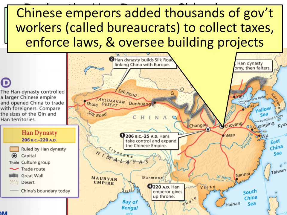 As a result, eras in Chinese history are named after the ruling dynasties